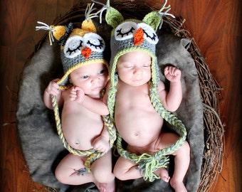 Twin Owl Hats