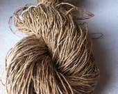 Organic hemp yarn for fibre and textile art projects. 100g, Knitting, crochet, jewelry, weaving, bags and more.