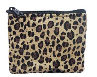 Cheetah Print Coin Bag