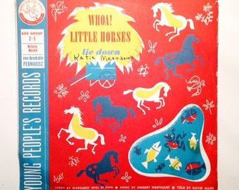 Vintage Children's Records 1950s 78 RPM