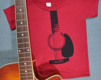 Acoustic Guitar Organic Cotton Shirt (2T)