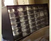 Vintage Large Gray Organizer
