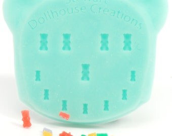 1:12 Gummy Bear Mold, Dollhouse Miniature