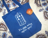 TARDIS Canvas Tote Bag