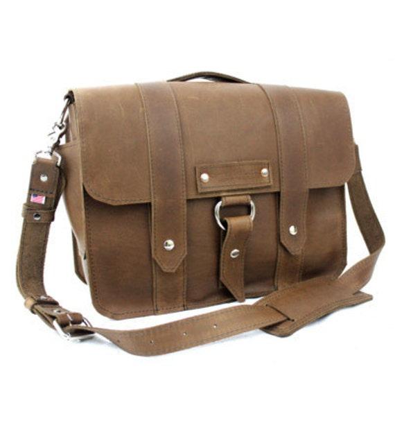 """15"""" Brown Sierra Jorneyman Laptop Bag - 15-J-BR-LAP"""