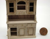 Miniature dollhouse furniture undecorated sideboard in half scale - code VMJ 1128s