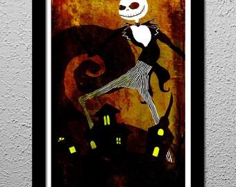 Nightmare Before Christmas - Tim Burton - Jack Skellington