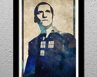 The 9th Doctor - Christopher Eccleston - Doctor Who Tardis
