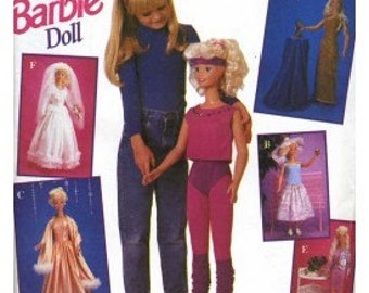 My Size Barbie Pattern For 36 IN. Barbie