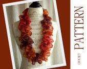 Sashay Infinity Ruffle Scarf Crochet Pattern - Salsa