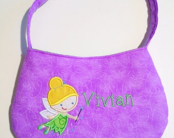 Girls Personalized Fairy Purse