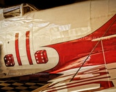 classic Gee Bee racer, aviation photography, pilot gift, boys room decor, vintage airplane art