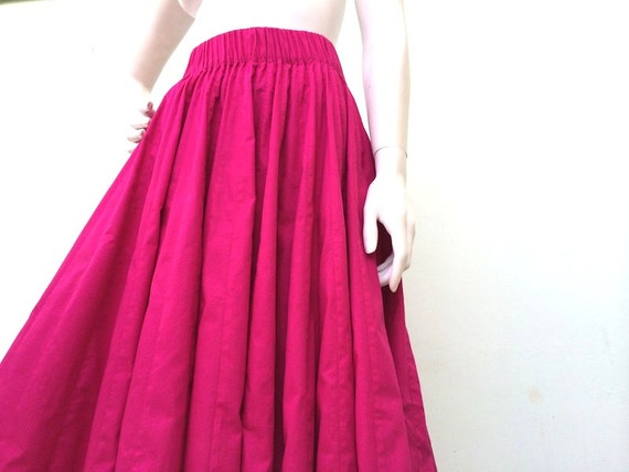 bright pink maxi skirt madame skirts by