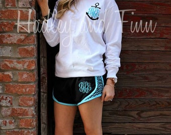 Monogrammed Tee and Shorts