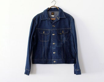1970s Lee denim jacket,  Lee Sanforized PATD-153438