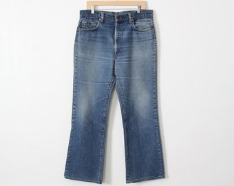 1980s Levis 517 denim jeans, waist 36