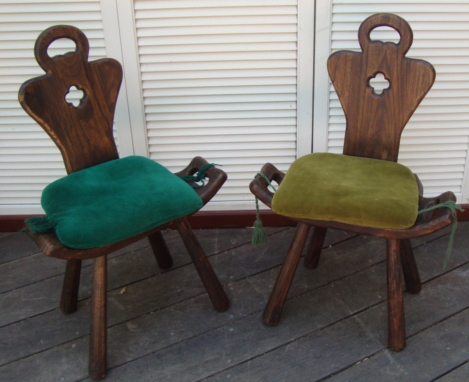 Antique birthing chair -  Zoom
