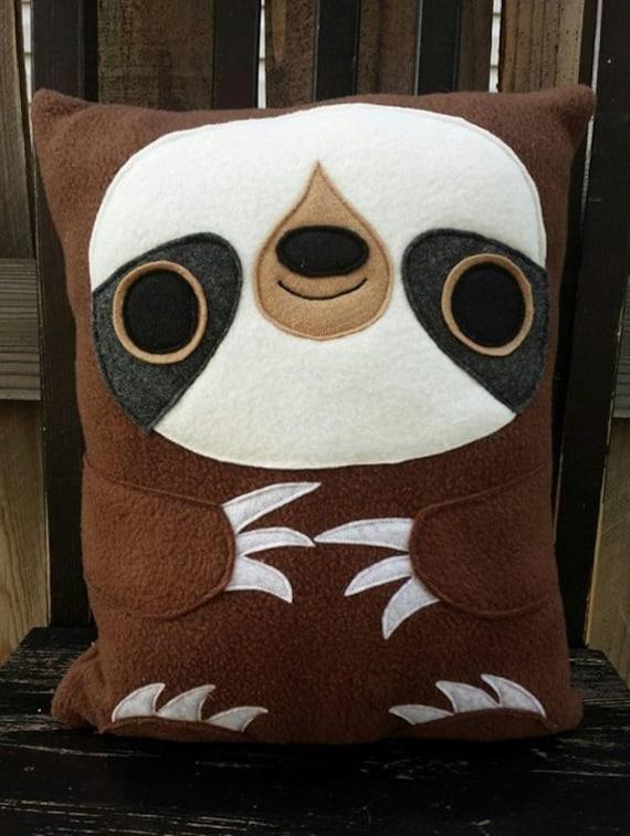 Sloth, plush, pillow, cushion, gift