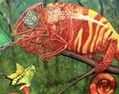 Chameleon Sacred Geometry...