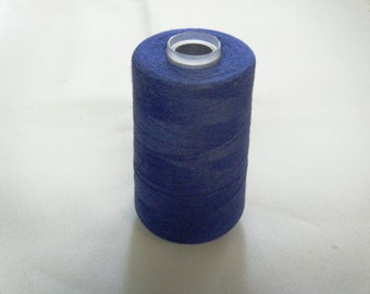 SERGER SEWING THREAD    Royal Blue 1 Spool   (5900 yards approximately)