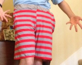 Long Pocket Shorts - Men's Long Pocket Shorts - Men's Long Shorts - Custom Shorts - Handmade Shorts - Custom Color Fabric Men's Shorts