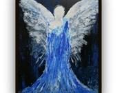 Archangel Michael - Angel Painting by Alma Yamazaki