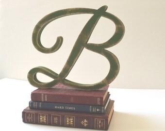Letter B wooden letter - 8 inch