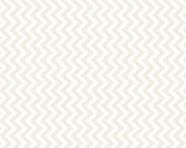 Muslin Mates Chevron White by Moda