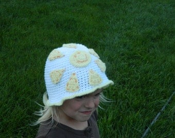 Children's sun hat//4-6 years old//20 inches