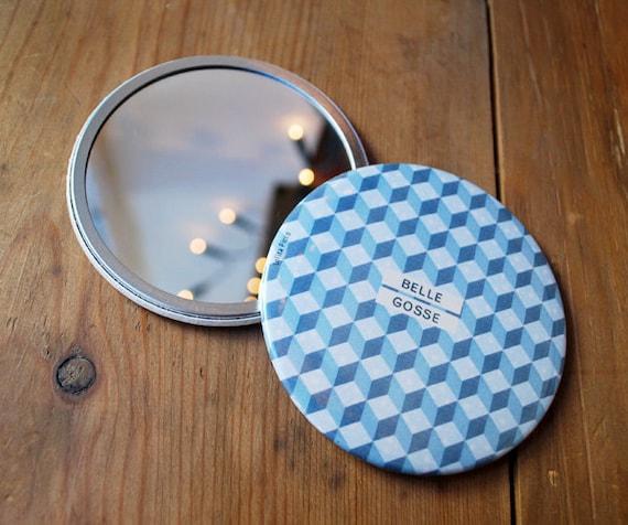 Belle Gosse / Miroir de poche 7,5 cm