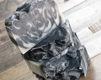 Anise Mint Charcoal Olive Oil Soap