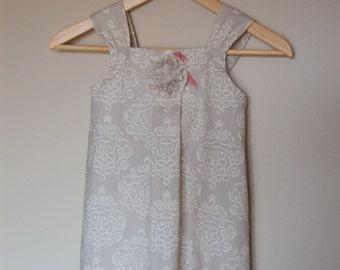 Aubrey Pleated Dress - READY TO SHIP - size 4