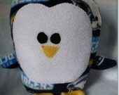 Plush San Diego Chargers Penguin Pillow Pal, Baby Safe, Machine Wash and Dry