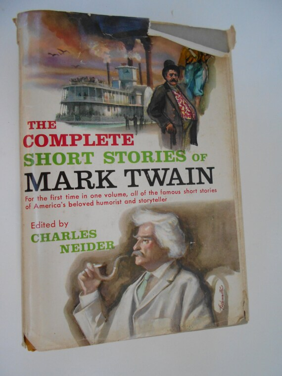 the complete short stories and famous essays of mark twain one volume edition 'all american literature comes from one book    called huckleberry finn,'  hemingway declared  as the first volume of mark twain's unexpurgated  autobiography is  in his essay on joan of arc twain responded with an  outraged rant  it wasn't until 1906 that the writer almost as famous for his  lectures.