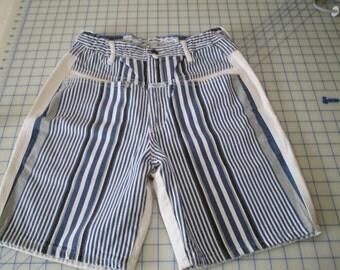 girbaud pants striped