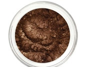 SALE DARK CHOCOLATE - Mineral Eyeshadow Mineral Makeup - Pure & Natural Mineral Eye Color Pigment - Noella Beauty Cosmetics