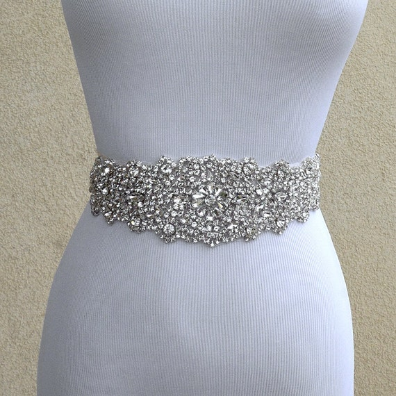 bridal sash belt wedding dress sash belt rhinestone wedding