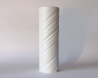 Vintage Tall Spiral Vase - Hutschenreuther Gugel 60s