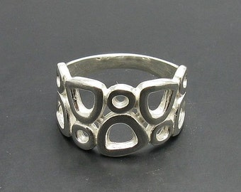 R000601 STERLING SILVER Ring Solid 925