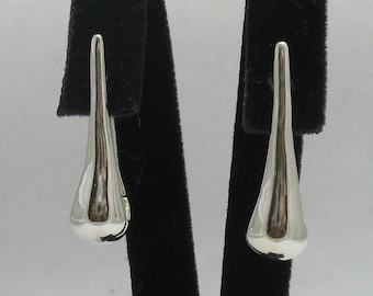 E000276 Sterling Silver Earrings Solid   925