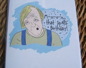 Stephen King's The Stand Birthday Card