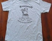 Audiowood Squirrel Tee