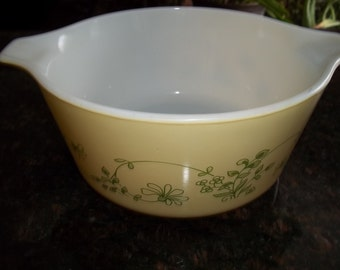 Shenandoah, Pyrex#474-B, Vintage, Casserole Dish, Baking Dish, Bowl