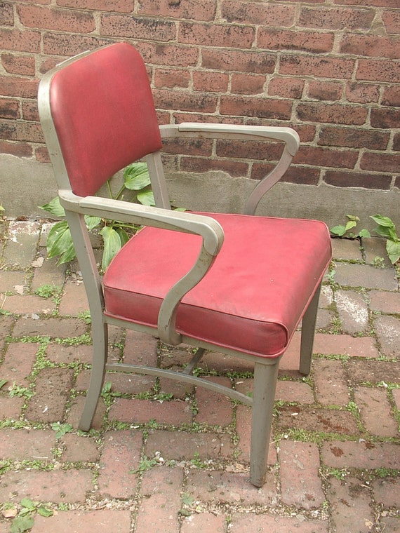Vintage 1950 39 S Office Chair Steelcase Chair Steel By