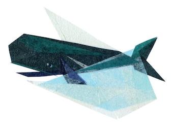 Ira Whale - Nautical Art Print
