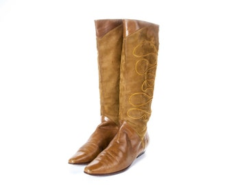 1980's Style CHANTEL Boots Size 10