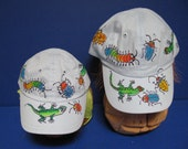 Handpainted Critters Baseball Cap for Infants and Toddlers
