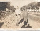 1940's COUNTRY BOYS and a Camera, Original Black and White Photograph