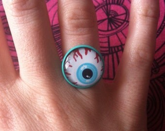 Adjustable eyeball ring