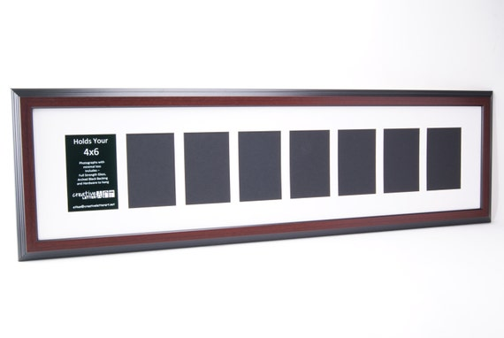 Mahogany Picture Frames With 3 4 5 6 7 8 9 10 Opening